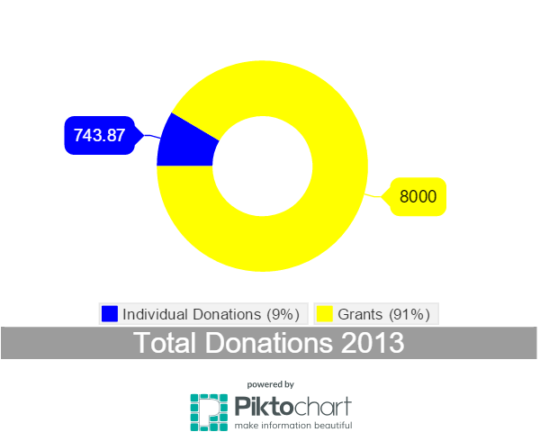 Donations 2013